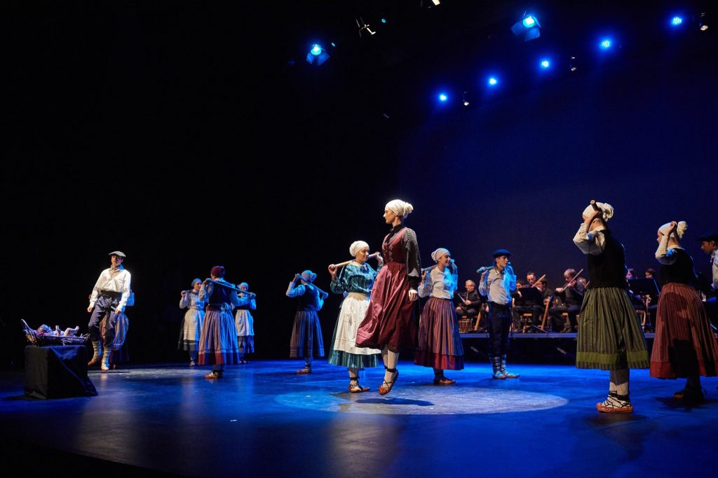 Mesias Sarritan dantza, 2016ko abenduaren 3an