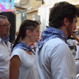 Bailando en las fiestas del euskara